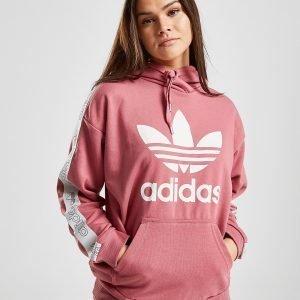 Adidas Originals Tape Overhead Huppari Vaaleanpunainen