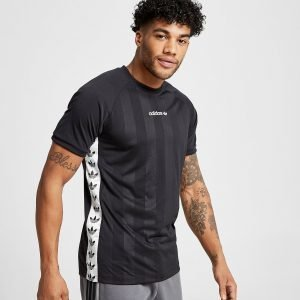 Adidas Originals Tape T-Shirt Musta
