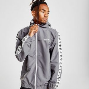 Adidas Originals Tape Windbreaker Harmaa