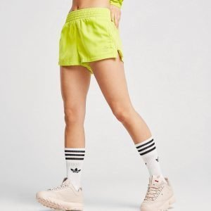 Adidas Originals Tie Dye High Waist Shortsit Keltainen