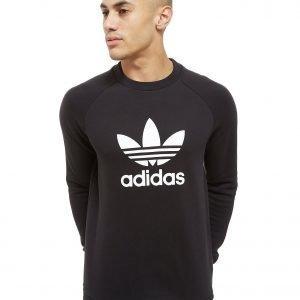 Adidas Originals Trefoil Crew Collegepaita Musta