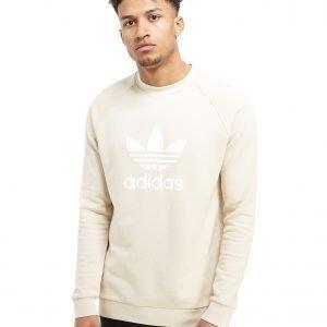 Adidas Originals Trefoil Crew Sweatshirt Linen