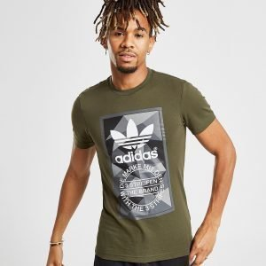 Adidas Originals Trefoil Label T-Paita Vihreä