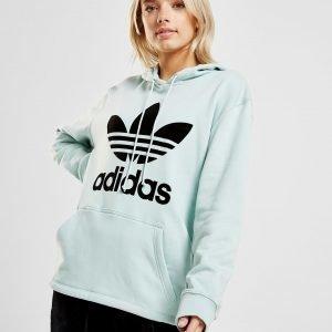Adidas Originals Trefoil Overhead Hoodie Vihreä