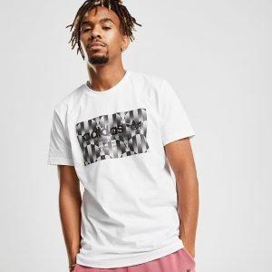 Adidas Originals Trefoil Reflective T-Shirt Valkoinen