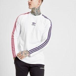Adidas Originals Trefoil Sportivo Long Sleeve T-Paita Valkoinen