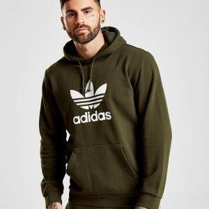 Adidas Originals Trefoil State Overhead Hoodie Vihreä