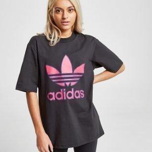Adidas Originals Trefoil T-Shirt Musta