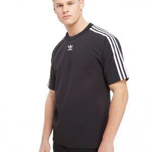 Adidas Originals Trefoil Warm Up T-Shirt Musta
