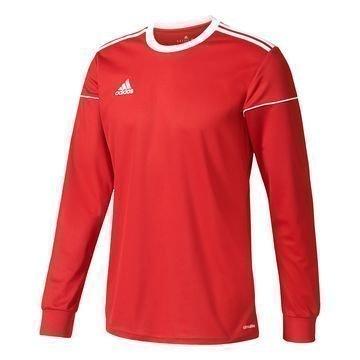 Adidas Pelipaita Squadra 17 L/S Punainen/Valkoinen