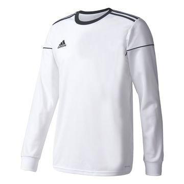 Adidas Pelipaita Squadra 17 L/S Valkoinen/Musta Lapset