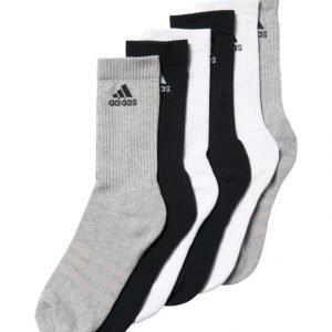 Adidas Performance 3 Stripes Crew Sukat 6 Pack