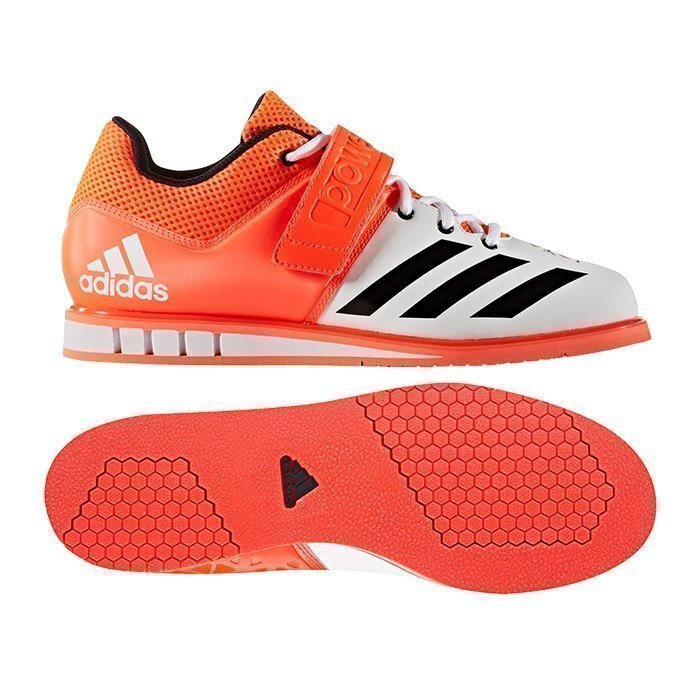 Adidas Powerlift 3 Orange/White strl 45 1/3