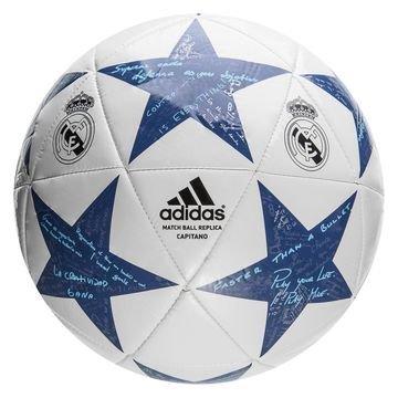 Adidas Real Madrid Jalkapallo Champions League 2016 Final Capitano Valkoinen/Harmaa