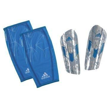 Adidas Säärisuojat Messi 10 Pro Hopea/Sininen
