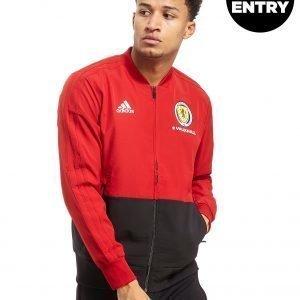 Adidas Scotland Fa 2018/19 Presentation Jacket Punainen