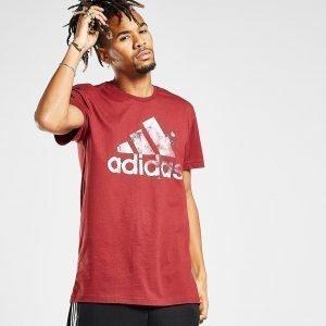 Adidas Splatter T-Shirt Punainen