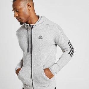 Adidas Sport Id Full Zip Hoodie Harmaa