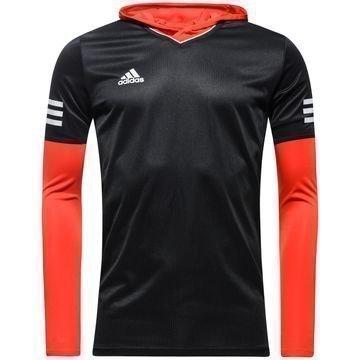 Adidas T-paita & Baselayer-setti Tango Future Musta/Punainen