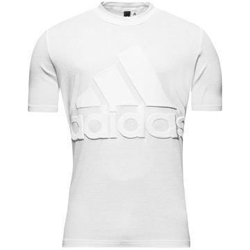 Adidas T-paita Basic Logo Valkoinen