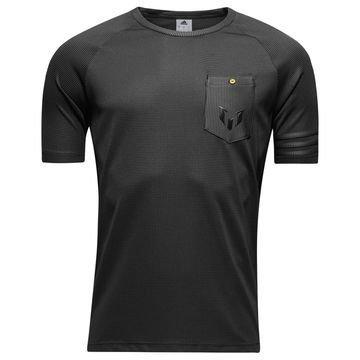Adidas T-paita Messi Logo Harmaa