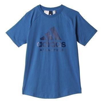 Adidas T-paita Printed Sininen Lapset