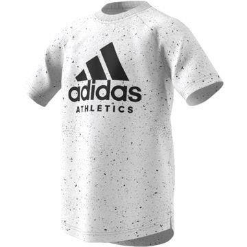 Adidas T-paita Printed Valkoinen/Musta Lapset