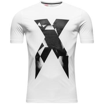 Adidas T-paita X Graphic Valkoinen Lapset