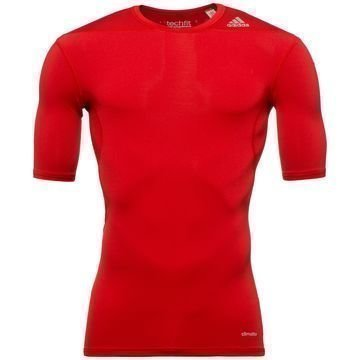 Adidas Techfit Base S/S Red