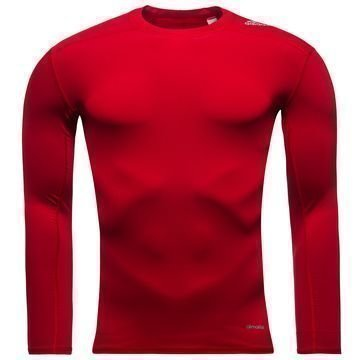 Adidas Techfit Baselayer L/S Punainen