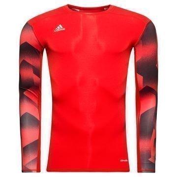 Adidas Techfit Tango L/S Punainen/Musta