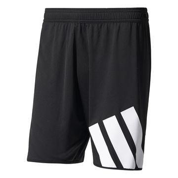 Adidas Treenishortsit Tango Musta/Valkoinen