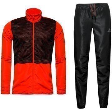 Adidas Verryttelyasu Urban Football Musta/Punainen Lapset