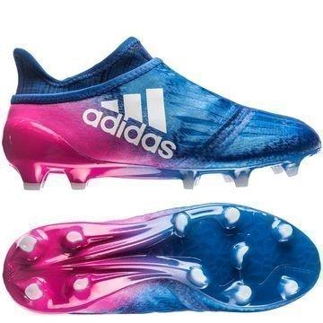 Adidas X 16+ PureChaos FG/AG Blue Blast Sininen/Valkoinen/Pinkki Lapset