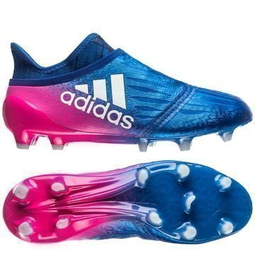 Adidas X 16+ PureChaos FG/AG Blue Blast Sininen/Valkoinen/Pinkki