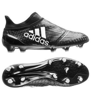 Adidas X 16+ PureChaos FG/AG Chequered Black Musta/Valkoinen