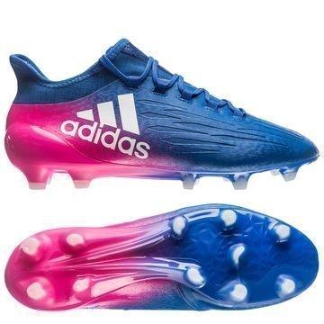 Adidas X 16.1 FG/AG Blue Blast Sininen/Valkoinen/Pinkki