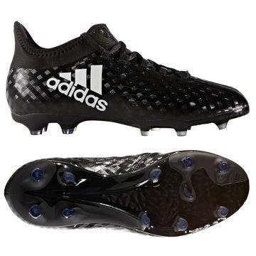 Adidas X 16.1 FG/AG Chequered Black Musta/Valkoinen Lapset