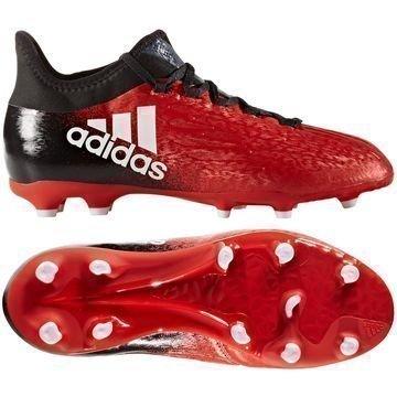 Adidas X 16.1 FG/AG Red Limit Punainen/Valkoinen/Musta Lapset
