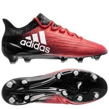 Adidas X 16.1 FG/AG Red Limit Punainen/Valkoinen/Musta