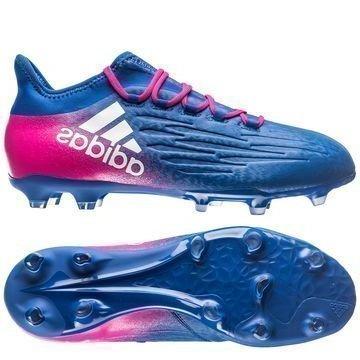 Adidas X 16.2 FG/AG Blue Blast Sininen/Valkoinen/Pinkki