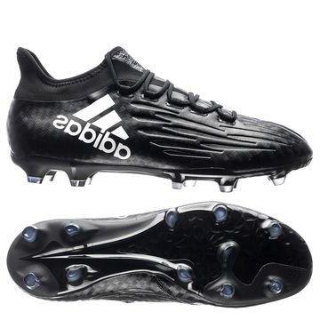 Adidas X 16.2 FG/AG Chequered Black Musta/Valkoinen