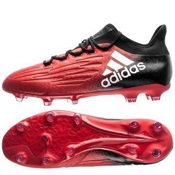 Adidas X 16.2 FG/AG Red Limit Punainen/Valkoinen/Musta