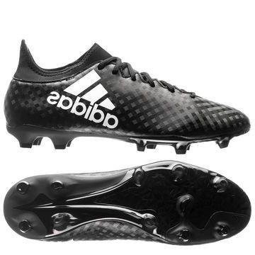 Adidas X 16.3 FG/AG Chequered Black Musta/Valkoinen