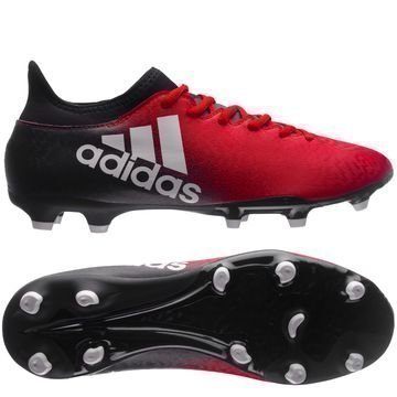 Adidas X 16.3 FG/AG Red Limit Punainen/Valkoinen/Musta