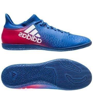 Adidas X 16.3 IN Blue Blast Sininen/Valkoinen/Pinkki