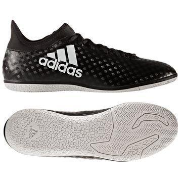 Adidas X 16.3 IN Chequered Black Musta/Valkoinen