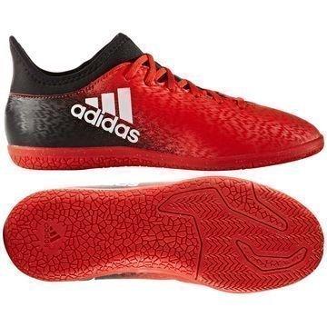 Adidas X 16.3 IN Red Limit Punainen/Valkoinen/Musta Lapset