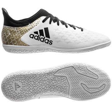Adidas X 16.3 IN Stellar Pack Valkoinen/Musta/Kulta Lapset