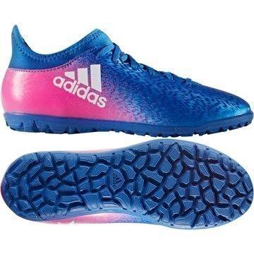 Adidas X 16.3 TF Blue Blast Sininen/Valkoinen/Pinkki Lapset
